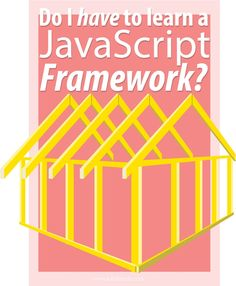 Should you learn a JavaScript framework? Which JavaScript framework should you learn? Read on at http://www.lukefabish.com/learn-javascript-framework/ to find out more