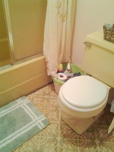 Before 70 S Harvest Gold Bathroom With No Style Bed Bath