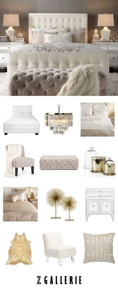 Master Bedroom Makeover Ideas, MasterBedroom Bedroom Chairs, Hardwood Bedroom Furniture, Funky Bedroom Furniture This idea is also great for your teenage girl. Dream Rooms, Dream Bedroom, Home Bedroom, Bedroom Ideas, Cream Bedroom Decor, Cream And White Bedroom, Cream Bedroom Furniture, Bedroom Boys, Bedroom Inspo