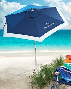 Tommy Bahama - Deluxe 7' Beach Umbrella $58 http://www.tommybahama.com/TBG/Men/Wedding/Wedding_Gifts/PRD_TH32096/Deluxe+7+Beach+Umbrella.jsp
