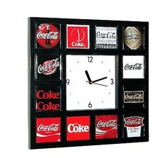 History of Coke Coca-Cola drink soda pop sign logo classic wall or desk clock in Collectibles, Advertising, Soda Coca Cola Decor, Coca Cola Drink, Coca Cola Ad, Always Coca Cola, World Of Coca Cola, Pepsi, Vintage Coca Cola, Coca Cola Kitchen, Desk Clock