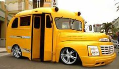 Cool School Buses | Cool Cars - Pics and Vids