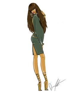 Rihanna Eras, A Girl Like Me by Daren J