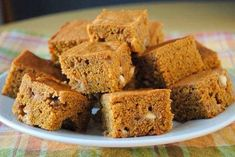 Healthy Cake, Healthy Cookies, Cake Bars, Dairy Free, Clean Eating, Food And Drink, Keto, Paleo, Pumpkin