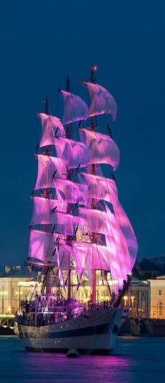 Magical Tall Ship