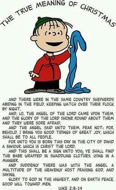 Christmas - Linus - The True Meaning Of Christmas