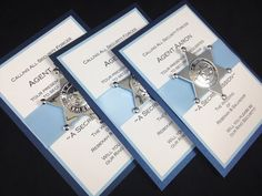Ring Bearer Invitation, Ring Security, Will You Be My Ring Bearer, Police, Sheriff