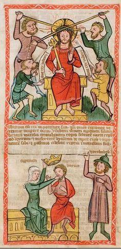 1360 Speculum humanae salvationis  38v