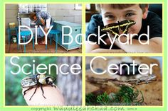 How to Make a Backyard Science Center for Kids