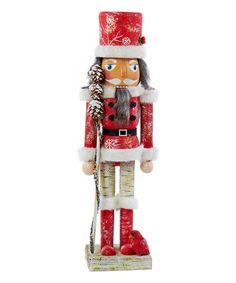 Look at this Wooden Forest Nutcracker on #zulily today!