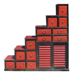 Black Rims, Red Black, Metal Storage Cabinets, Linen Cabinets, Outdoor Wedding Inspiration, Asian Furniture, Wood Joints, Interior And Exterior, Brick