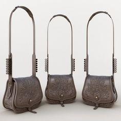 bec6871f9c1 Shoulder bag 3D Model .max .c4d .obj .3ds .fbx .lwo