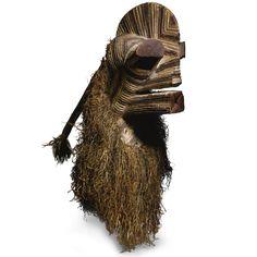 Songye Male Kifwebe Mask, Democratic Republic of the Congo | lot | Sotheby's