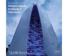 O Arquiteto Massimo Iosa Ghini, em um projeto da Universidade de Milão, representou a arquitetura e esculturas produzidas desde os tempos imemoriais. A instalação é um vínculo entre legado da modernidade, tradição e inovação, principalmente no que se diz respeito a tecnologia. A torre é toda iluminada com tecnologia LED, formando uma malha luminosa e uma incrível geometria.