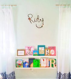 Ruby's Dazzling Nursery on Kids Interiors