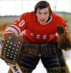 Vladislav Tretiak one of the best goalies Hockey Goalie Gear, Ice Hockey Players, Women's Hockey, Hockey Games, Montreal Canadiens, Nhl, Hockey Pictures, Red Wings Hockey, Stars Hockey