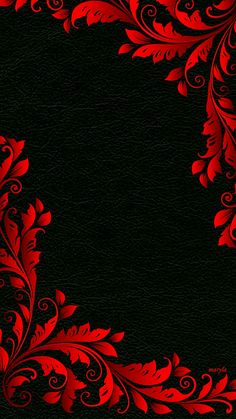 Black Wallpaper Floral Floral Design Art Decoration Background Safflower decorative black leather background More than 3 million PNG and graphics resource at Pngtree. Find the best inspiration you need for your project. Red And Black Wallpaper, Black Phone Wallpaper, Cellphone Wallpaper, Galaxy Wallpaper, Flower Wallpaper, Nature Wallpaper, Mobile Wallpaper, Red And Black Background, Blank Background