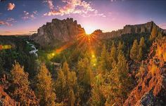 Have to wake up like this at least once in life Smith Rock State Park :@natewyeth...