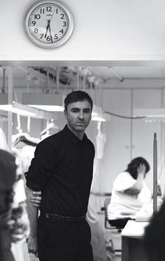 Raf Simons. Raf Simons, Dior Haute Couture, Atelier Dior, Christian Dior, Sir Francis, Louis Vuitton, Couture Details, Good Company, Business Fashion