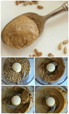 Homemade Sunbutter--Making sunflower seed butter at home is easy and saves you a lot of money!  This is a delicious recipe!!