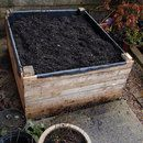 Step 0: Build a raised bed out of pallets