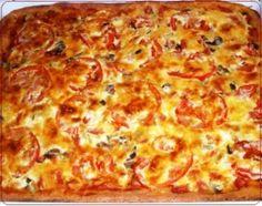 Пицца из творожного теста   Рецепты вкусно