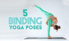 Bind to Unwind: 5 Bound Yoga Poses