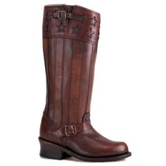 Frye Engineer Americana Women's Leather Riding Boots >>> Trust me, this is great! Click the image. : Boots