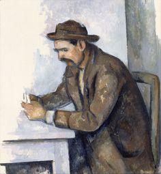 Le joueur de cartes. Paul Cézanne