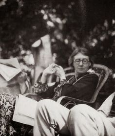 """Virginia Woolf was a significant figure in London literary society and a member of the Bloomsbury Group. Her most famous works include the novels Mrs Dalloway (1925), Orlando (1928), and the essay A Room of One's Own (1929), with its famous dictum, """"A woman must have money and a room of her own if she is to write fiction."""""""