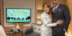 """Steve's wife Marjorie will join him on the """"Steve Harvey"""" set to talk about life at the Harvey household and how being new grandparents has enriched their lives. Description from steveharveytv.com. I searched for this on bing.com/images"""