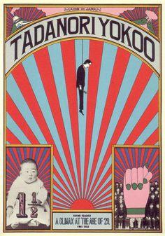 Tadanori Yokoo, Japanese Designer, 1960s