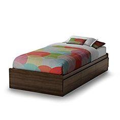 Newton Mate's Bed Box Size: Twin, Finish: Mocha
