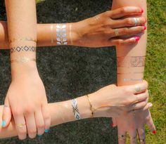 Best Friends :: Jewelry Tattoos | By TribeTats