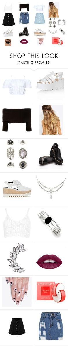 """""""Untitled #139"""" by aldi-mix on Polyvore featuring beauty, Glamorous, Dorothee Schumacher, Johnny Loves Rosie, Topshop, STELLA McCARTNEY, WearAll, Kevin Jewelers, alfa.K and Bulgari"""