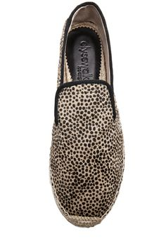 Elyse Walker Los Angeles Calf Hair Espadrilles in Cheetah Print [4]