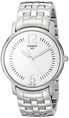 Tissot Womens T0522101103700 Silver Dial Lady Round Watch * Check out this great product.Note:It is affiliate link to Amazon.