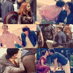 Now and Then, Chris and Scarlett are still packing the sizzling chemistry they have together. #Evansson #Romanogers <3 <3 <3