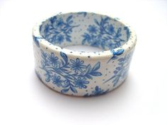 A Treasure of Happiness in Shades of Blue by JoAnne on Etsy