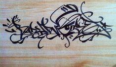 Badypnose (@badypnose) on wood . #badypnose #handstyle #graffiti //follow @handstyler on Instagram