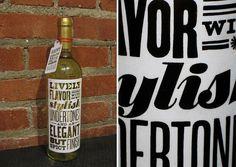 love this DIY wine label