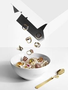 Editorial | Jewellery & Watches | Matthew Shave | #jewellery #breakfast