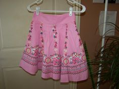 Skirt in Wascopete's Garage Sale in Tooele , UT for $2. Pink Skirt Size 10