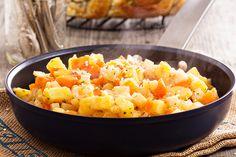 Dr. Junger's Root Vegetable Hash: Serve this tasty vegetarian dish by Dr. Alejandro Junger at mealtime!
