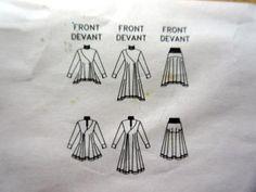 EZ-Issey-Miyake-Vogue-Sewing-Pattern-2164-Avant-Garde-DRESS-SKIRT-TOP-12-16-NEW