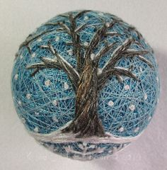 temari 14 side view. This is a Yahoo group of Temari crafters. They say technique questions welcome.