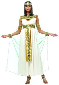 Golden Cleopatra Egyptian Adult