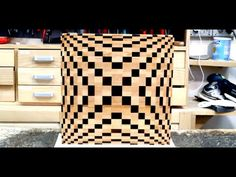 Making a 3D end grain cutting board #4 - YouTube