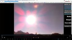Nibiru system seen through cloaking device with atmosphere on  webcam ti...