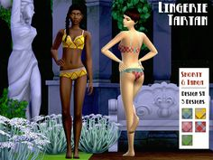 Sims 4 CC's - The Best: Lingerie by Fuyaya